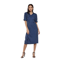 Ayana Long Striped Dress by Flair & Stare