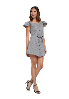 Kate Plaid Short Dress by Flair & Stare