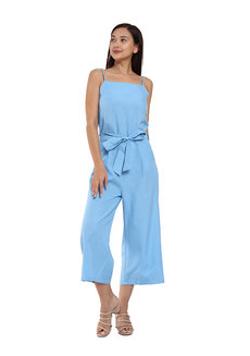 Michelle Ribbon Jumpsuit by Flair & Stare