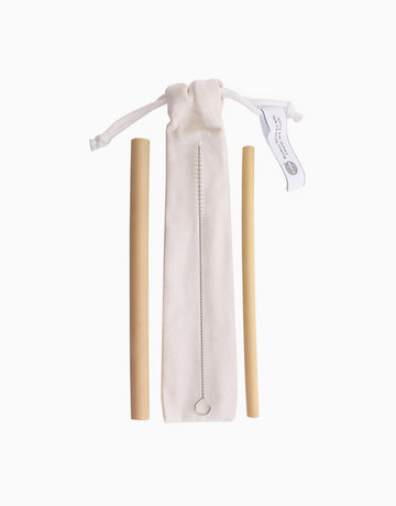 Bamboo Straw Kit w/ Cleaner by Remind PH