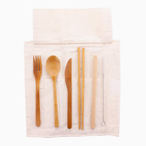 Bamboo Utensil Kit w/ Pouch by Remind PH