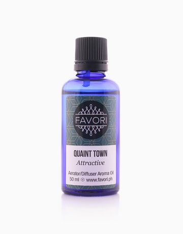 Quaint Town 50ml Aerator/Diffuser Aroma Oil by FAVORI