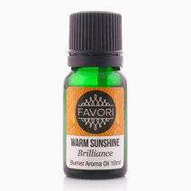 Warm Sunshine 10ml Burner Aroma Oil by FAVORI