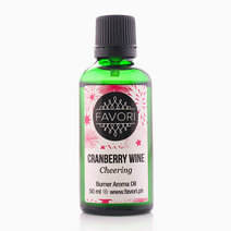 Cranberry Wine 50ml Burner Aroma Oil by FAVORI