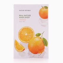 Real Nature Orange Mask Sheet by Nature Republic