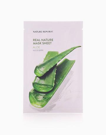 Real Nature Aloe Mask Sheet by Nature Republic
