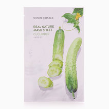 Real Nature Cucumber Mask Sheet by Nature Republic