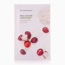 Real Nature Shea Butter Mask Sheet by Nature Republic