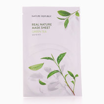 Real Nature Green Tea Mask Sheet by Nature Republic