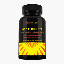 Vitamin C Complex 500mg (50 Tablets) by Herbs of the Earth