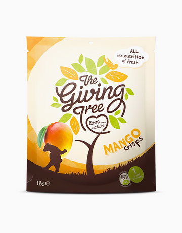 Freeze Dried Mango Crisps (18g) by The Giving Tree