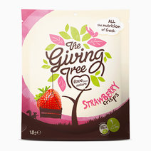 Freeze Dried Strawberry Crisps (18g) by The Giving Tree