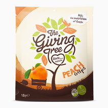 Freeze Dried Peach Crisps (18g) by The Giving Tree