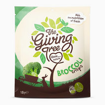 The Giving Tree Vacuum Fried Broccoli Crisps (18g) by Raw Bites