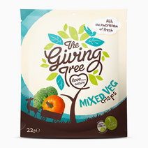 Vacuum Fried Mixed Veggies Crisps (22g) by The Giving Tree