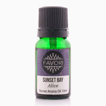Sunset Bay 10ml Burner Aroma Oil by FAVORI