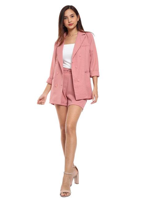 Robyn 3-Piece Blazer Set by Pink Lemon Wear