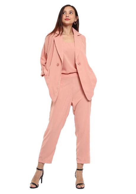 Harper 3-Piece Blazer Set by Pink Lemon Wear