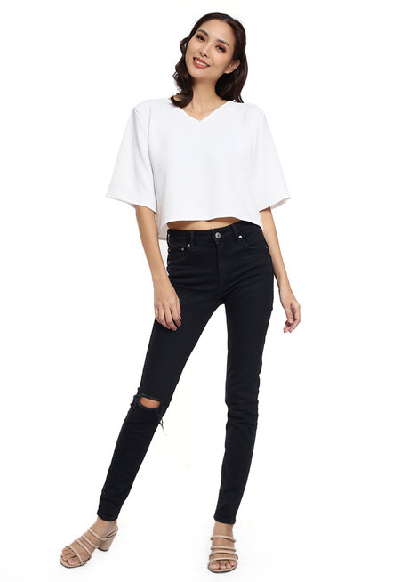 Wrinkle-Free Kimono Blouse by Candid Clothing