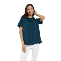 Stella Cowl Neck top by Adorn Clothing