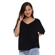 V-Neck Loose Shirt by The Fifth Clothing