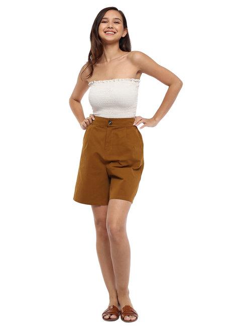 Cheska Linen Shorts by Pink Lemon Wear