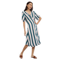 Maxi Wrap Around Dress by That Chic Shop