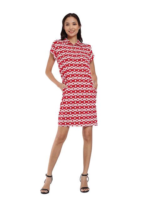 Cap Sleeved Dress by Vida Manila