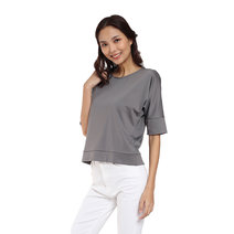 Knit Dolman Sleeves Blouse  by Vida Manila