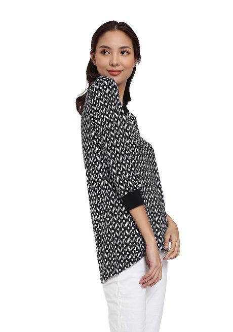 Spread Collar Blouse by Vida Manila