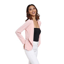 Open Zip Blazer by Vida Manila