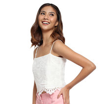 Eyelet Top by Tansshop