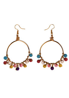 Rainbow Loop Earrings by Bedazzled