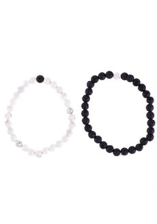 Distance Bracelet Set by Bedazzled