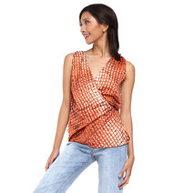Madi Sleeveless Wrap Top by Loukha