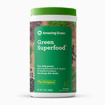 Green Superfood Organic Powder w/ Wheat Grass and 7 Super Greens (Original Flavor) (480g) by Amazing Grass