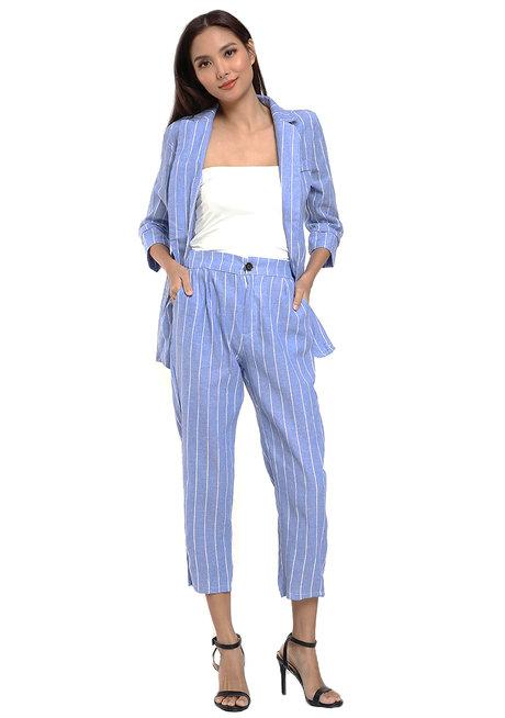 Blazer and Pants Set by Pink Lemon Wear