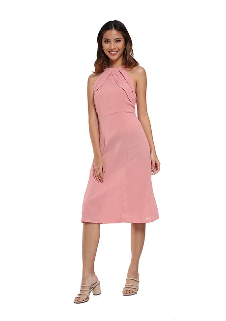 Halter Dress by Pink Lemon Wear