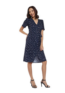 Happy Polka Dot Dress by Pink Lemon Wear