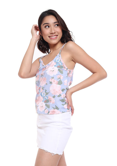 Floral Camisole Top by Glamour Studio