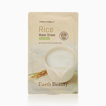 Earth Beauty Rice Mask Sheet by Tony Moly