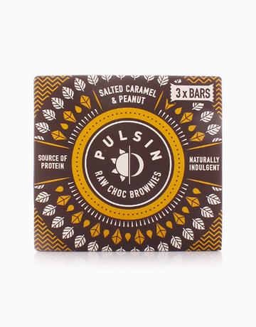 Salted Caramel Raw Choc Brownie (3 x 35g) by Pulsin