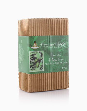 Lemon & Tea Tree Anti-Acne Bar by Aromacology Sensi