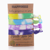 Tie Dye Happiness Hair Ties by Little Tree Palette