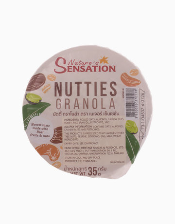 Nutties Granola (35g) by Nature's Sensation