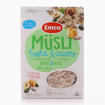 Light & Crispy Cereal w/ Seeds & Nuts by Musli