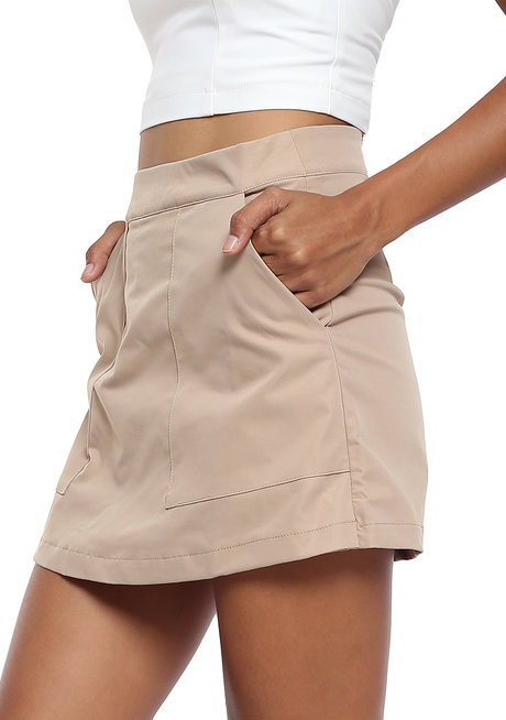 High Waist Skort by Tansshop