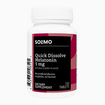 Quick Dissolve Melatonin 5mg (Cherry Flavor) (150 Tablets - 5 Month Supply) by Solimo