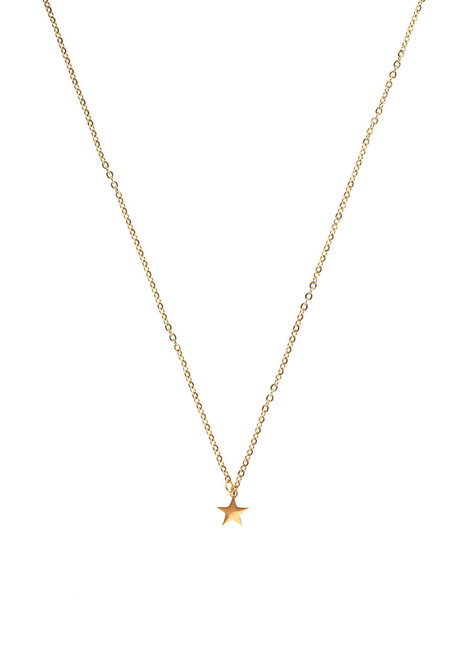 Stainless Star Necklace by Bedazzled