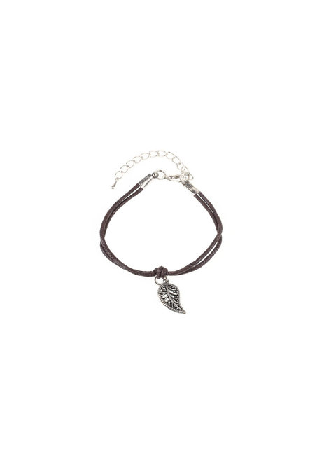 Leaf Friendship Bracelet by Bedazzled